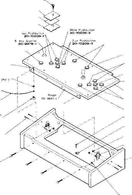 Control Panel Housing Parts
