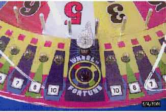 Wheel Fortune Spin Zone Game
