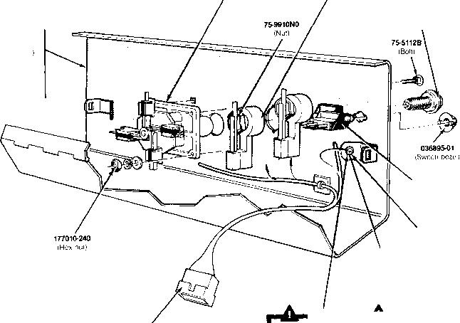 control panel assemblies - xevious